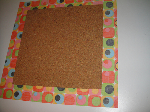 Center cork board
