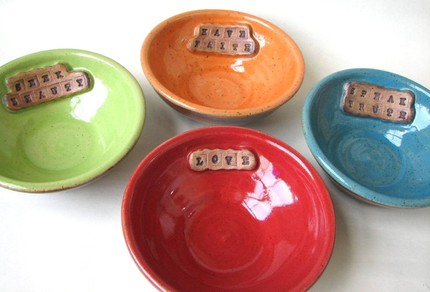 Small personalized bowl