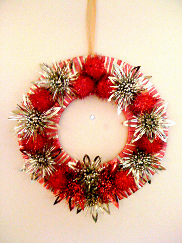 Christmas wreath too