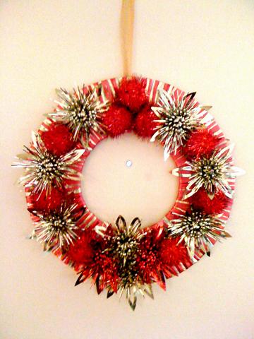 Christmas wreath too