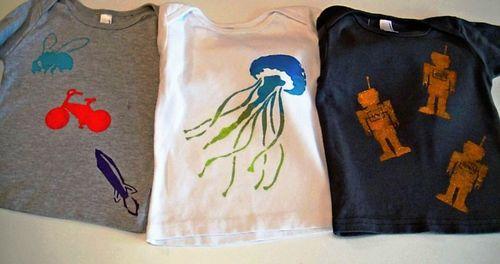 All three shirts