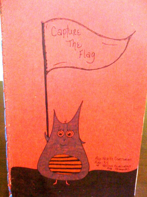 Capture the flag front cover